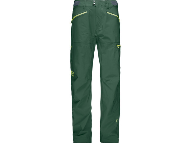 Norrøna Falketind Flex1 Pantalones Hombre, jungle green